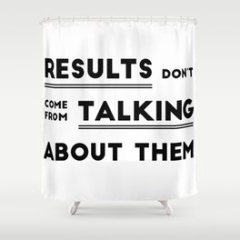 RESULTS Shower Curtain