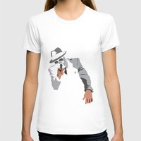 gangster T-shirts featuring The Gangster by Dulevartiano