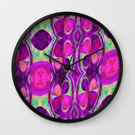 Trèfles à quatre feuilles Wall Clock