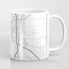 Minimal City Maps - Map Of Salem, Oregon, United States Coffee Mug