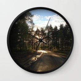 My Forrest Wall Clock