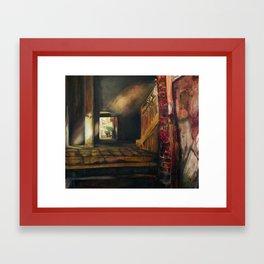 Corridor in Venice Framed Art Print