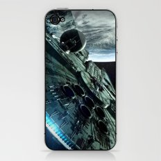 Milleniuim Falcon iPhone & iPod Skin
