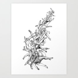 Fifty-five Art Print