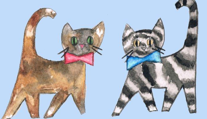 Cute kittys Pillow Sham