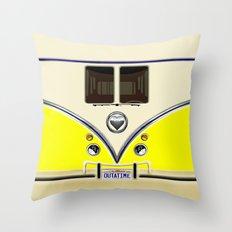 YELLOW minibus lovebug iPhone 4 4s 5 5c 6 7, pillow case, mugs and tshirt Throw Pillow