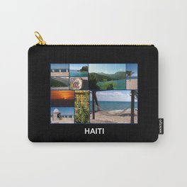 Colorful Photo Collage of Labadee, Haiti Carry-All Pouch