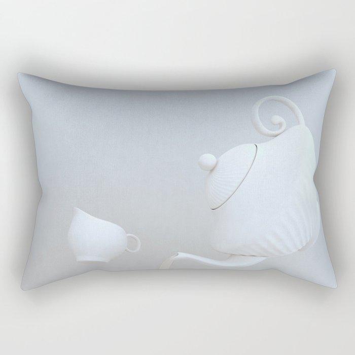 Tea Hour Rectangular Pillow