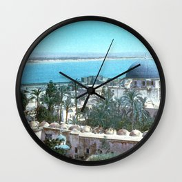 Akka. Carmel range across the bay Wall Clock