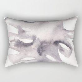 170928  Imaginary Leaves 6 |leaves illustration |monstera leaves Rectangular Pillow