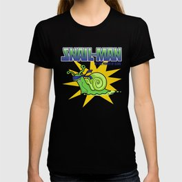 Snail-Man, by the Power of Slime T-shirt