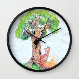 The Spirit Tree V2 Wall Clock
