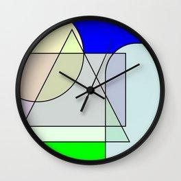 Colorandform mixery 4 Wall Clock