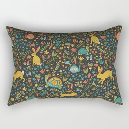 Tortoise and the Hare Rectangular Pillow