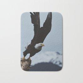 Alaskan Bald Eagle Bath Mat