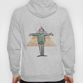 Amazin' Abe Maslow and His Hierarchy of Needs Hoody
