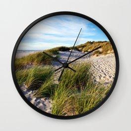 Magic Danish Coast Wall Clock
