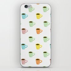 Coffee Pattern iPhone & iPod Skin