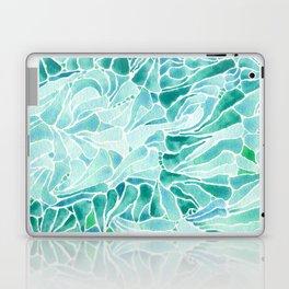 FERNING: Aqua ferns (2015) Laptop & iPad Skin