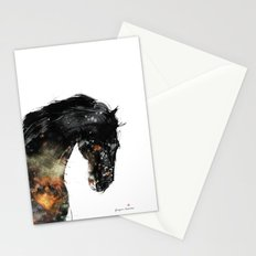 Horse portrait (Distant Galaxy) Stationery Cards
