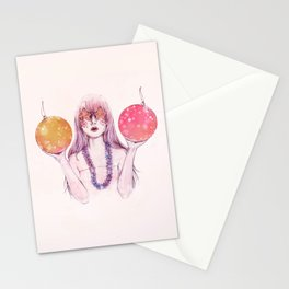 Naughty or Nice Stationery Cards