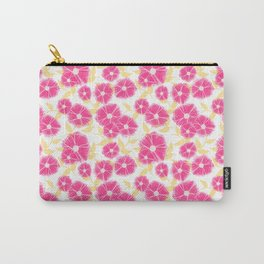 12 Sketched Mini Flowers Carry-All Pouch