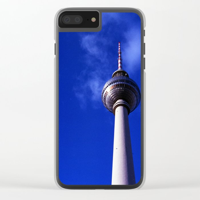 Fernsehturm de Berlín Clear iPhone Case