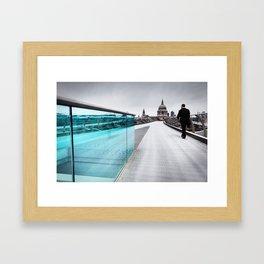 Millenium Commuter Framed Art Print