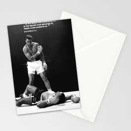 Muham-mad Ali poster, canvas for Wall Art Decor, Gym, kids, Home Living, Bedroom, Office Decorations, man cave with quote  Stationery Cards