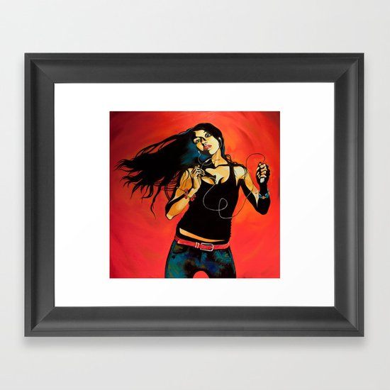 Feel Like Dancing Framed Art Print