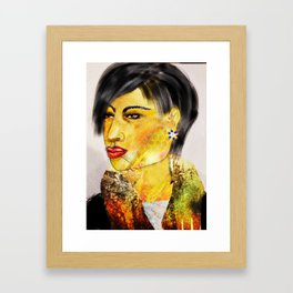 Face It 3 Framed Art Print