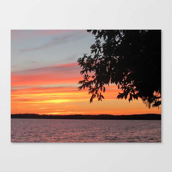 The Afterglow Canvas Print