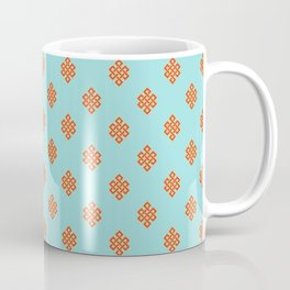 Eternity knot pattern Coffee Mug