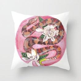 Denizens of the South Throw Pillow