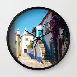 Obidos, Portugal (RR 175) Analog 6x6 odak Ektar 100 Wall Clock