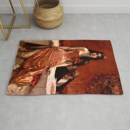 Classical Masterpiece; Circe The Temptress by Charles Hermans Rug