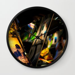Mirrors Wall Clock