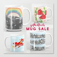 MUG SALE ! 5$off and free shipping! WOOHOO! Canvas Print