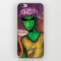 rio de janeiro iPhone & iPod Skins featuring RIO DE JANEIRO by Alien Style