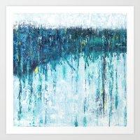 Blue Horizon Art Print