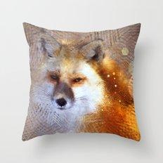 Vulpini Throw Pillow