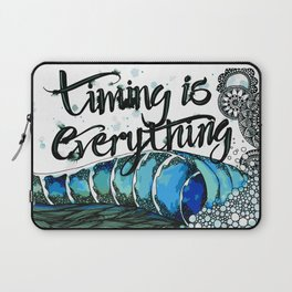 Timing is Everything Laptop Sleeve