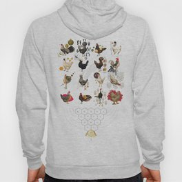 Defenseless Chickens Hoody