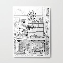 The Modern Witch's Studio Metal Print