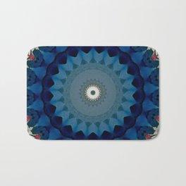 Basal Color Mandala 4 Bath Mat