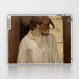 """Henri de Toulouse-Lautrec """"At Montrouge ( Rosa la Rouge)"""" Laptop & iPad Skin"""