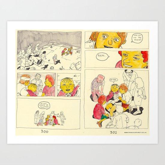 bartkira 3 Art Print