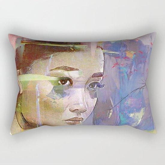 Izanami goddess Japanese Rectangular Pillow