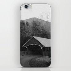 New England Classic Covered Bridge iPhone & iPod Skin
