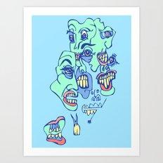 Teefers Art Print